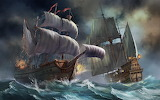 Ships-storm