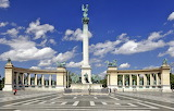 Heroes' Square - Budapest - Hungary