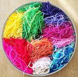 Colorful Yarn Basket