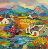 ^ Cape Landscape ~ Isabel le Roux
