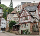 Half Timber Houses of Miltenberg Germany