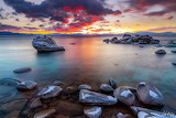 Creamsicle sunset-Lake Tahoe