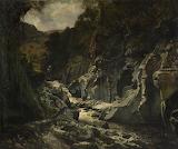 Stream in Torrent, 1858, Joseph Paul Pettitt