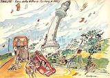 Il Faro della Vittoria con la bora (Aldo Aronne)