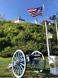 Mackinac Island Fort Cannon by Jason Cooper