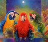 Three friends - José Moreno Aparicio
