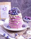 Purple Berry Crepes