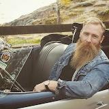 Blond beard Danne