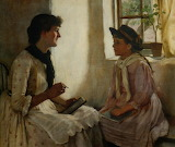 Norman Garstin, The Morning Lesson, 1882