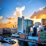 Sunset Boston Seaport