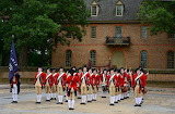 Colonial Williamsburg Virginia Red Coats USA