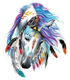Tribal Paint Horse