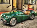 #Vintage Sports Car