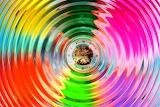 Colours-colorful-rainbow-circles-clock
