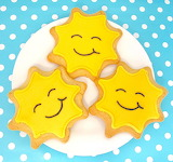 Rotate the smiley cookies