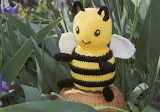 Knitted Bumblebee