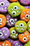 #Monster Eyeball Cookies