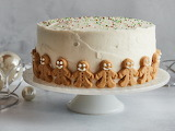 ^ Gingerbread Cake with Cream Cheese Frosting