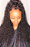 #Curly Lace Frontal Hairstyle