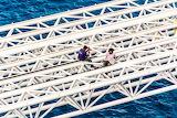 Dock workers in Cozumel