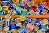 THREADS OF MANY COLORS - PHOTO