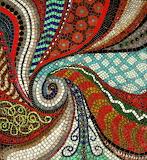 Abstract Mosaic Art