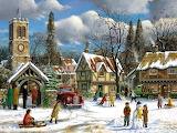 A Cold Winter's Day - Derek Roberts