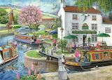 By the Canal - Ray Cresswell