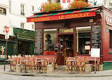 Le Consulat Cafe Montmartre Paris France