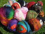 Yarn Stash Basket