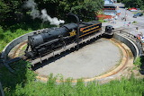 Locomotive #734 Western Maryland Railroad