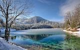 Beautiful Winter Landscapes-Fusine