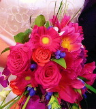 #Bright Wedding Bouquet