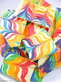 rainbow fudge