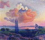 The Pink Cloud by Henri Edmund Cross c.1896