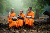 Student Monks - Tibet