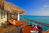 Sea, deck, sky, ocean, hat, pillow, chair, house, table