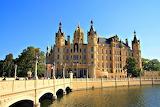 Schwerin Castle and Bridge Germany