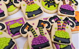 #Witch Halloween Cookies