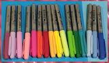 Line of pens