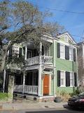 Shotgun house Charleston South Carolina