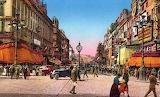 La Canebière dans les années, Marseille, France, 1920