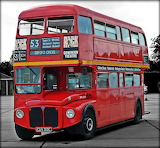 London old red bus