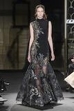 Black Applique Dress