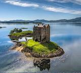 Castle Stalker Highlands Scotland