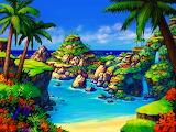 ☺♥ Pretty island...