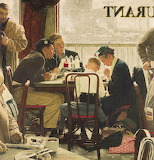 Norman Rockwell - Table Prayer
