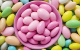 #Candy Coated Almonds