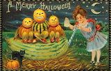 Halloween Vintage Girl