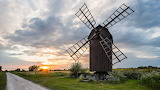 Windmill at Sunset, Öland, Sweden